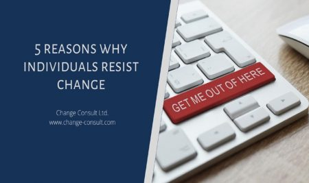 5 reasons why individuals resist change