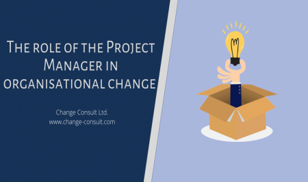 The role of the Project Manager in organisational change